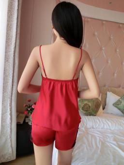 red_silky_lace_nightie_shorts_set_back_1024x1024