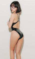 Latex Swimsuit 4