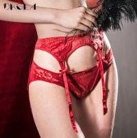 Red Lace Garter Belt